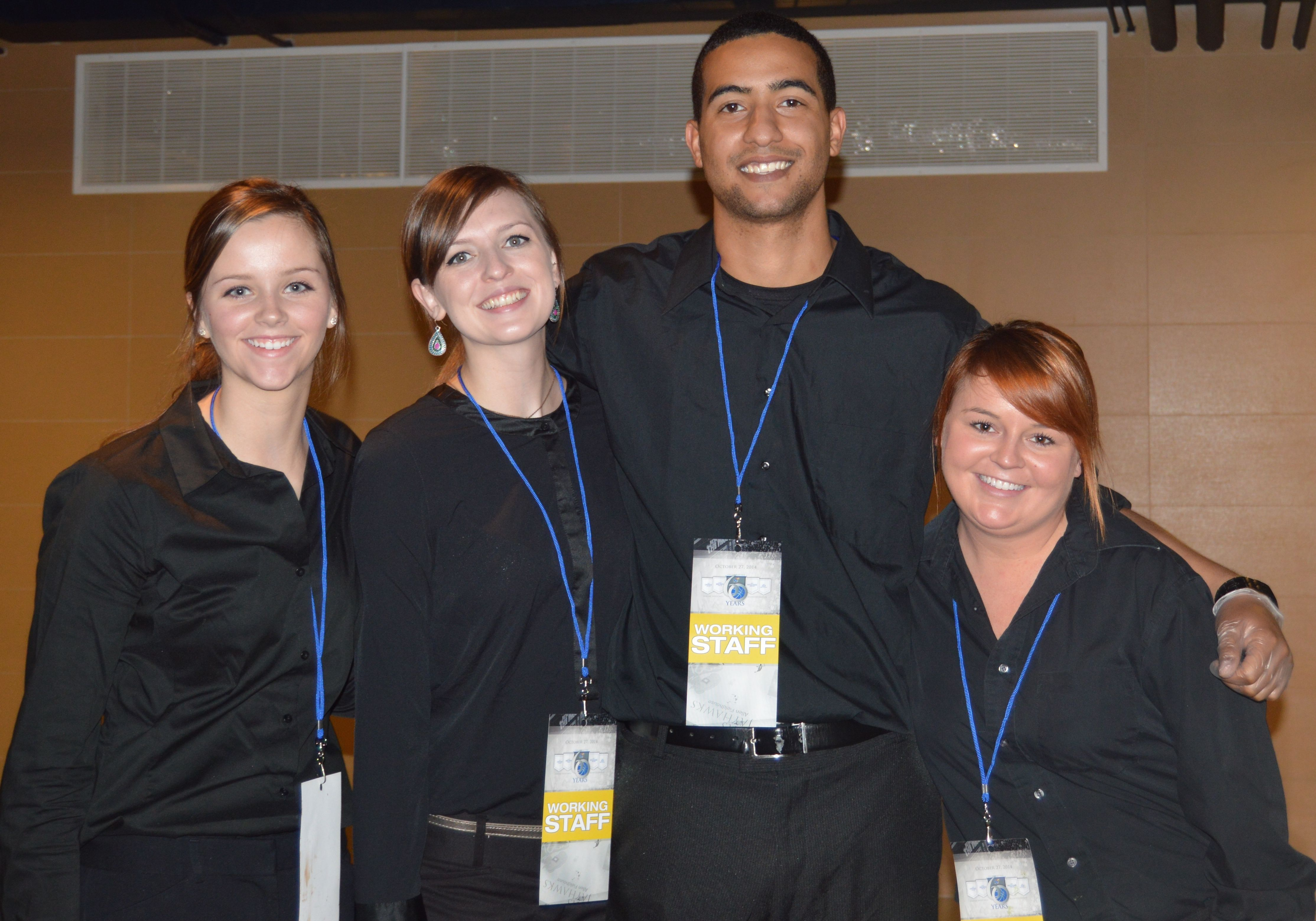 Professional & attentive Catering staff