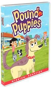 Pound Puppies Dvd Mission Adoption The Review Wire Pound Puppies Puppy Adoption Puppies