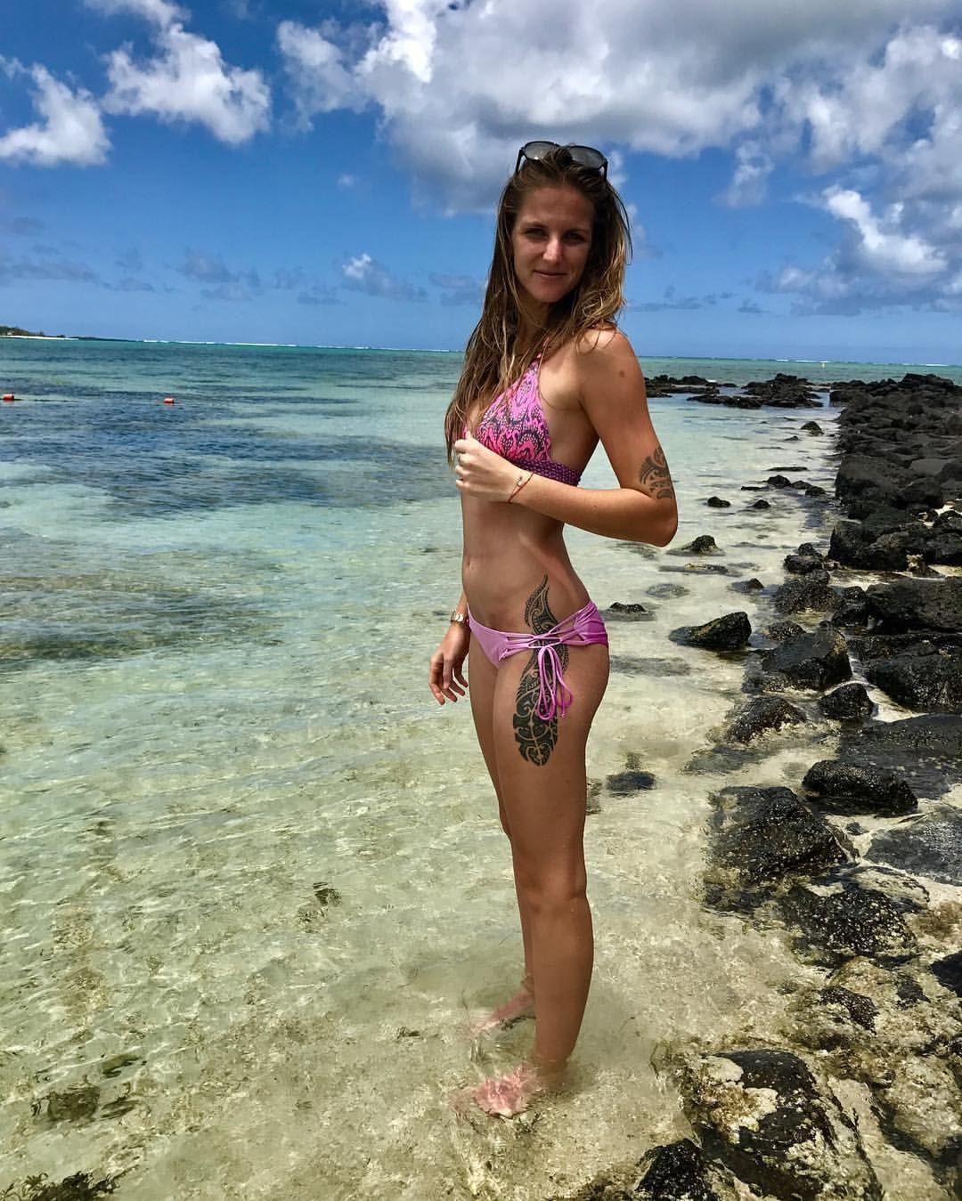 8e44d22ab02b3 Karolina Pliskova Simona Halep Bikini, Female Athletes, Bikini Swimwear,  Swimsuits, Bikinis,