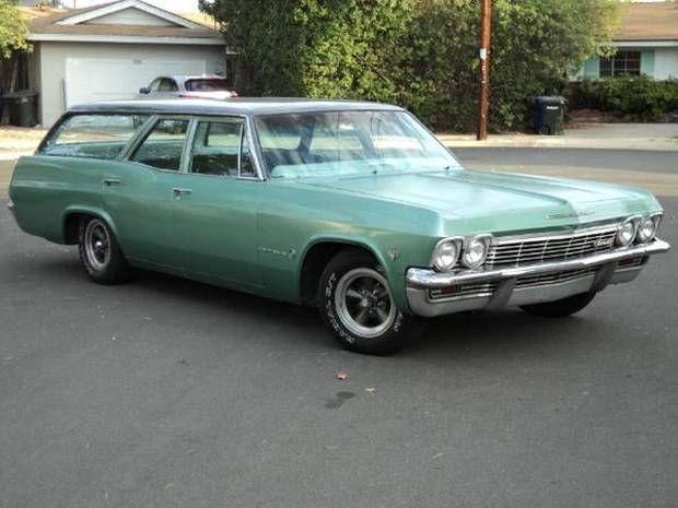 Factory 4 Speed 1965 Chevrolet Impala Wagon Chevrolet Impala