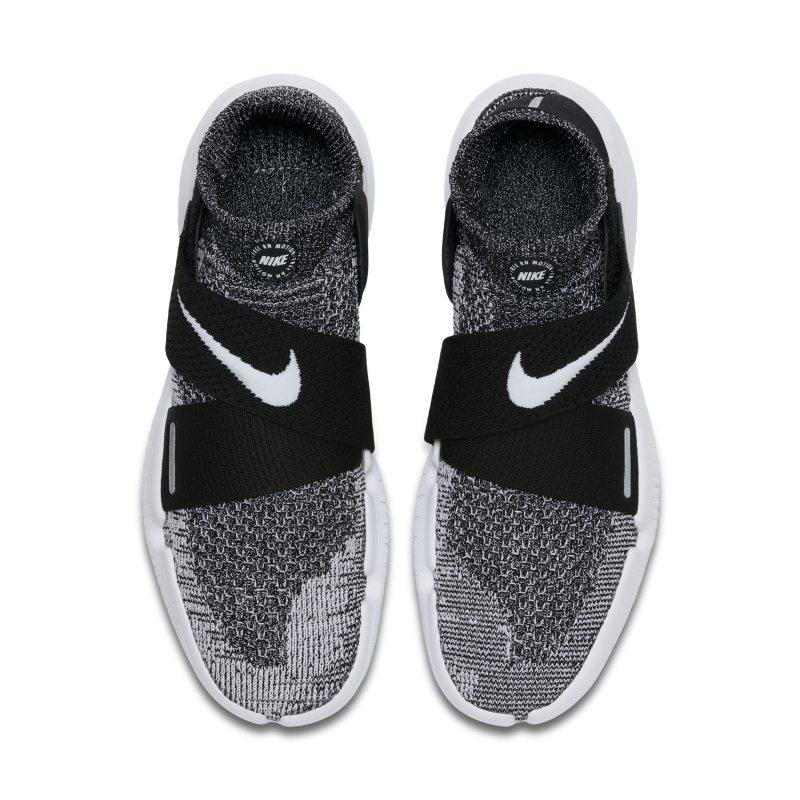 Besondere Nike Running Free Run Motion Flyknit Schwarze