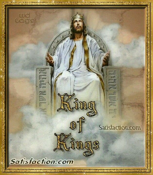 .He sits at the right hand of the Lord.