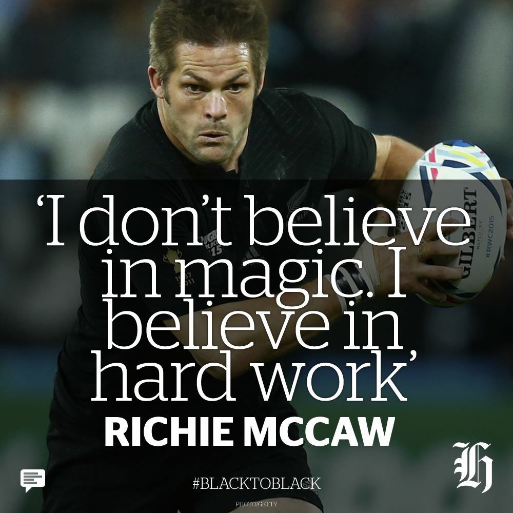 Ritchie Mccaw Rugby Quotes All Blacks Rugby Rugby Motivation