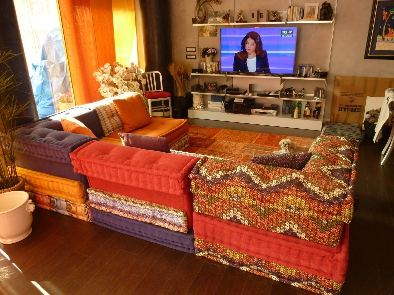 roche bobois mah jong missoni google search modular setting sofas pinterest mah jong. Black Bedroom Furniture Sets. Home Design Ideas