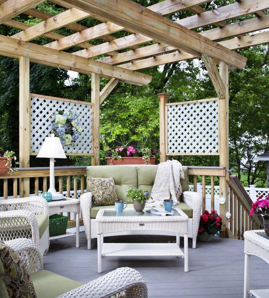 Ideas para amueblar y decorar tu terraza muebles d - Ideas para decorar una terraza ...