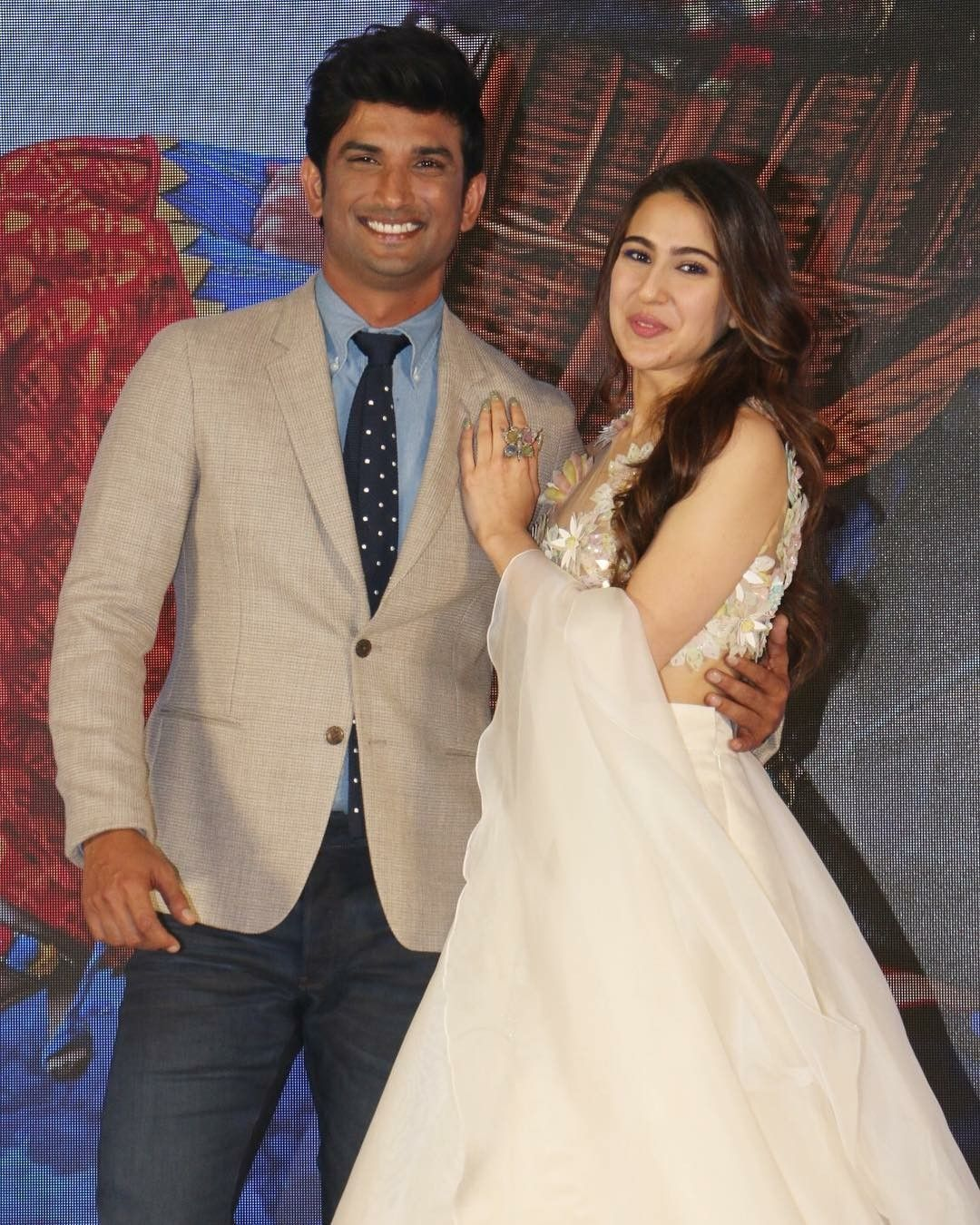 Sushant Singh Rajput OPENS UP about working with Sara Ali
