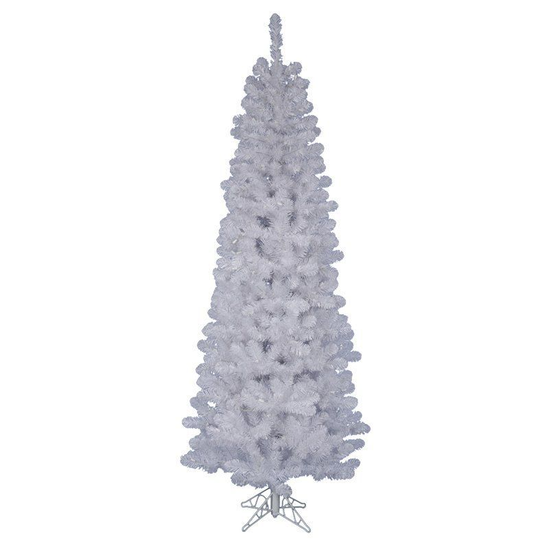 Salem Pencil Unlit Christmas Tree White A1032 Products
