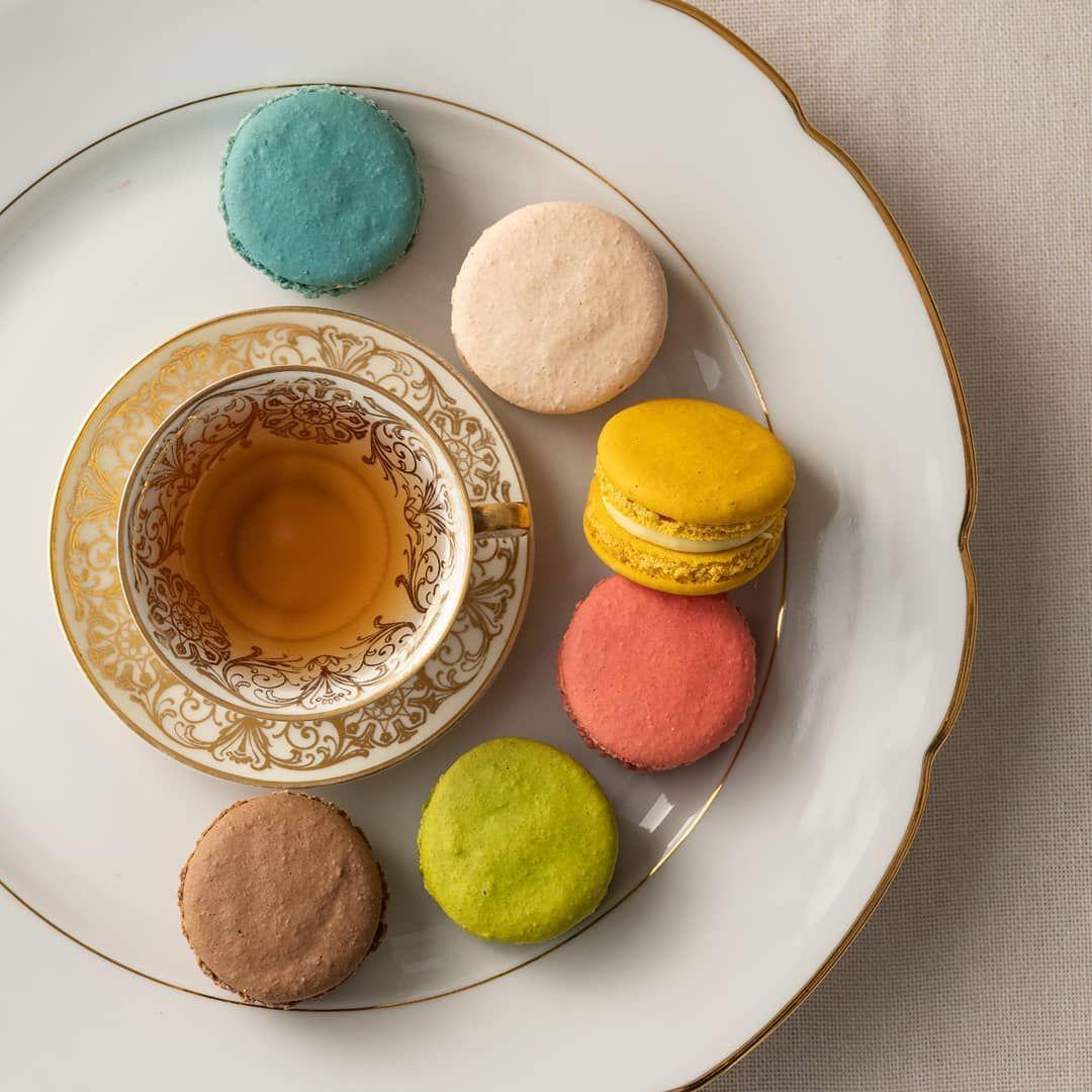 Ya sabes conque vas acompañar tu Te de la tarde.  Macarones, puede ser tu opción  Foto: @hugoserraphoto