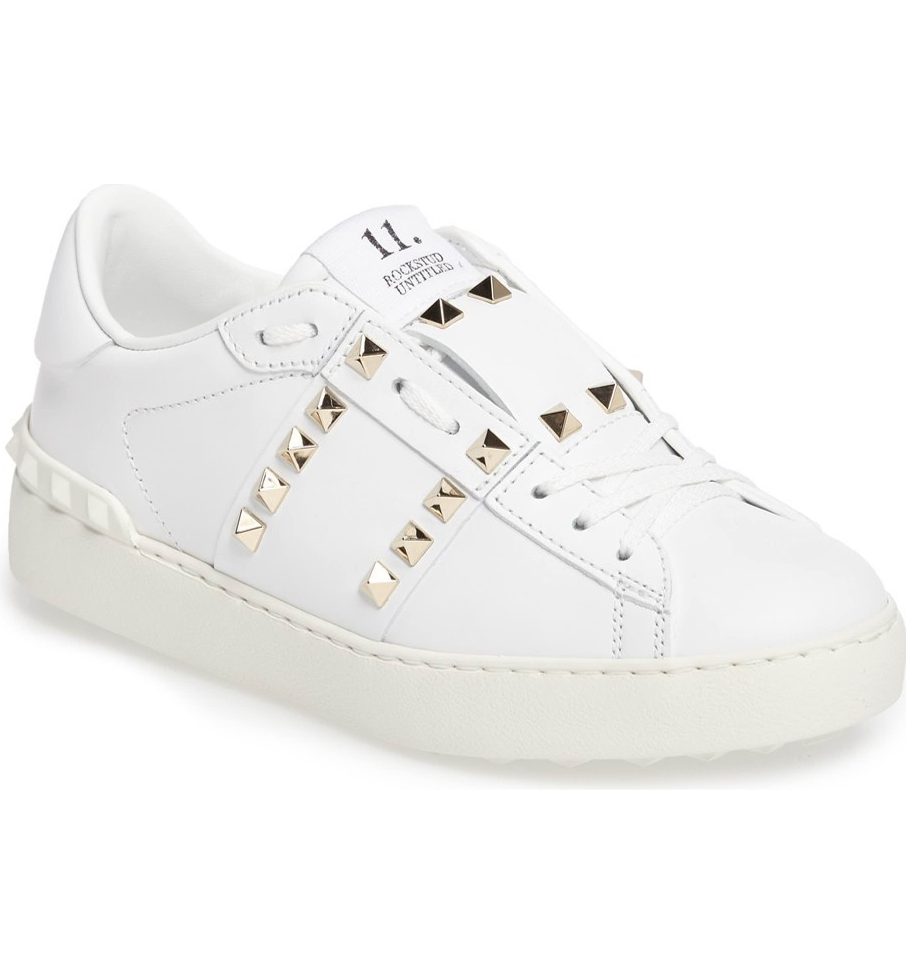 LADIES WOMENS ROCK STUD LACE UP TRAINERS SNEAKERS FASHION PLIMSOLLS GIRLS SHOES