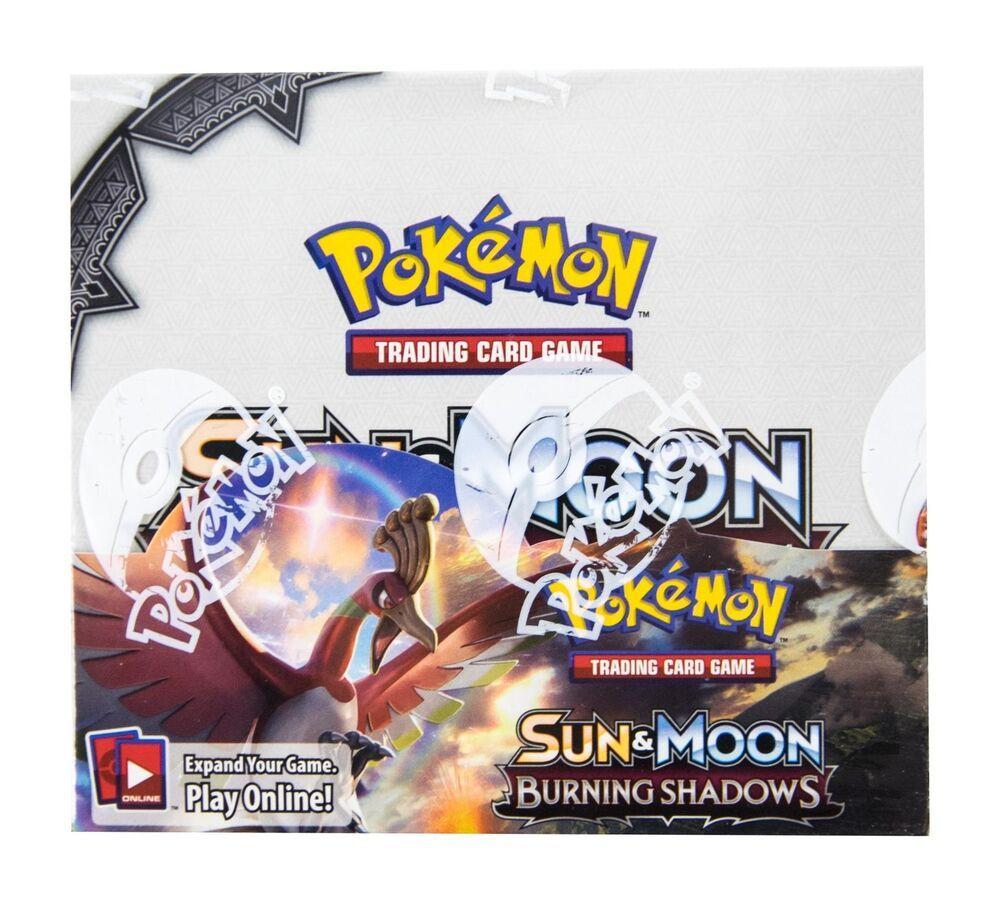 Pokemon Burning Shadows Booster Box Brand New Factory Sealed