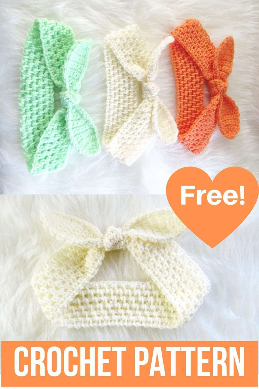 Knot Me Up Headband, Free Crochet Pattern - Crochet Dreamz