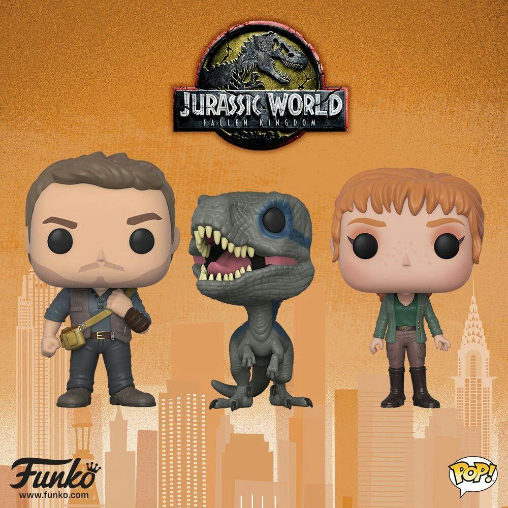 Jurassic World Fallen Kingdom Dunko Pop Toys Funko