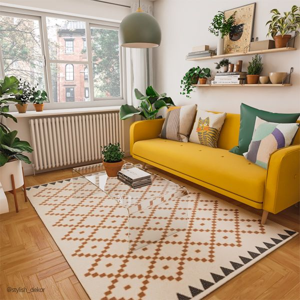 Photo of How to decorate with Yellow Sofa