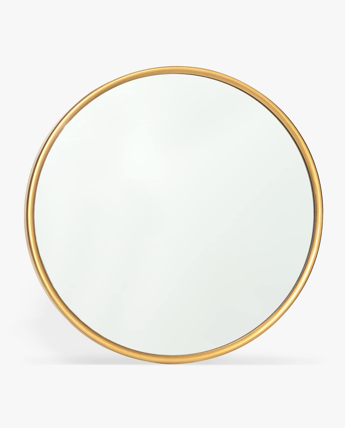 Image 1 Of The Product Round Mirror With Golden Frame Gold Framed Mirror Round Gold Mirror Zara Home