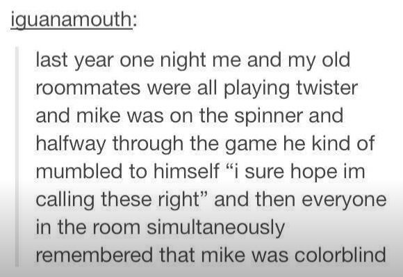 Color Blind Twister Spinner Stupid Funny Funny Tumblr Funny