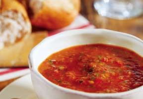 """Rustic Italian """"Go Red"""" Tomato Soup"""