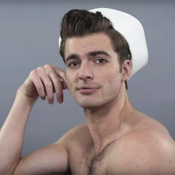 Beauty Grooming Journalist Of The Year: See 100 Years Of Male Beauty In 2 Minutes
