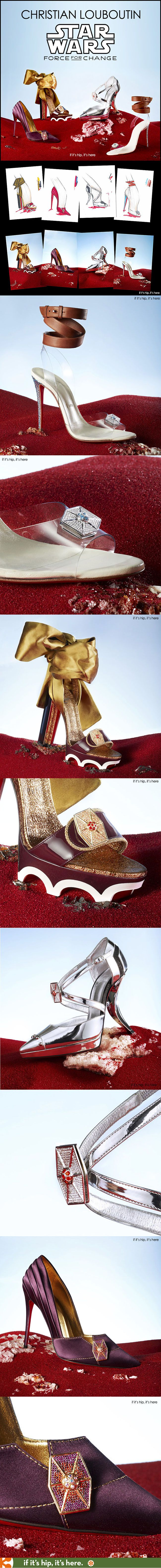 39dcb2086fc Louboutin Star Wars Shoes Benefit Starlight Foundation | Shoes Shoes ...