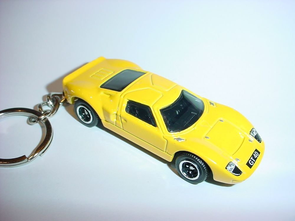 New D Yellow Ford Gt Custom Keychain Keyring Key Gt  Hot Backpack Bling