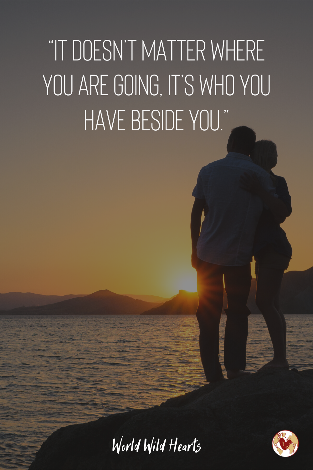 Couples Travel Quotes For Adventure Lovers Couple Travel Quotes Travel Quotes Travel Captions