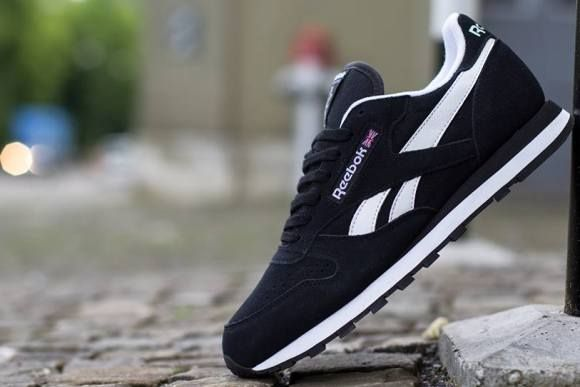 Reebok Classic Leather Suede - Black