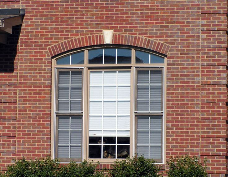 Brick offers unlimited style options add a segmental arch for Brick quoins