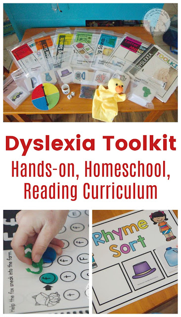 Make Learning to Read Hands-on with the Dyslexia Toolkit