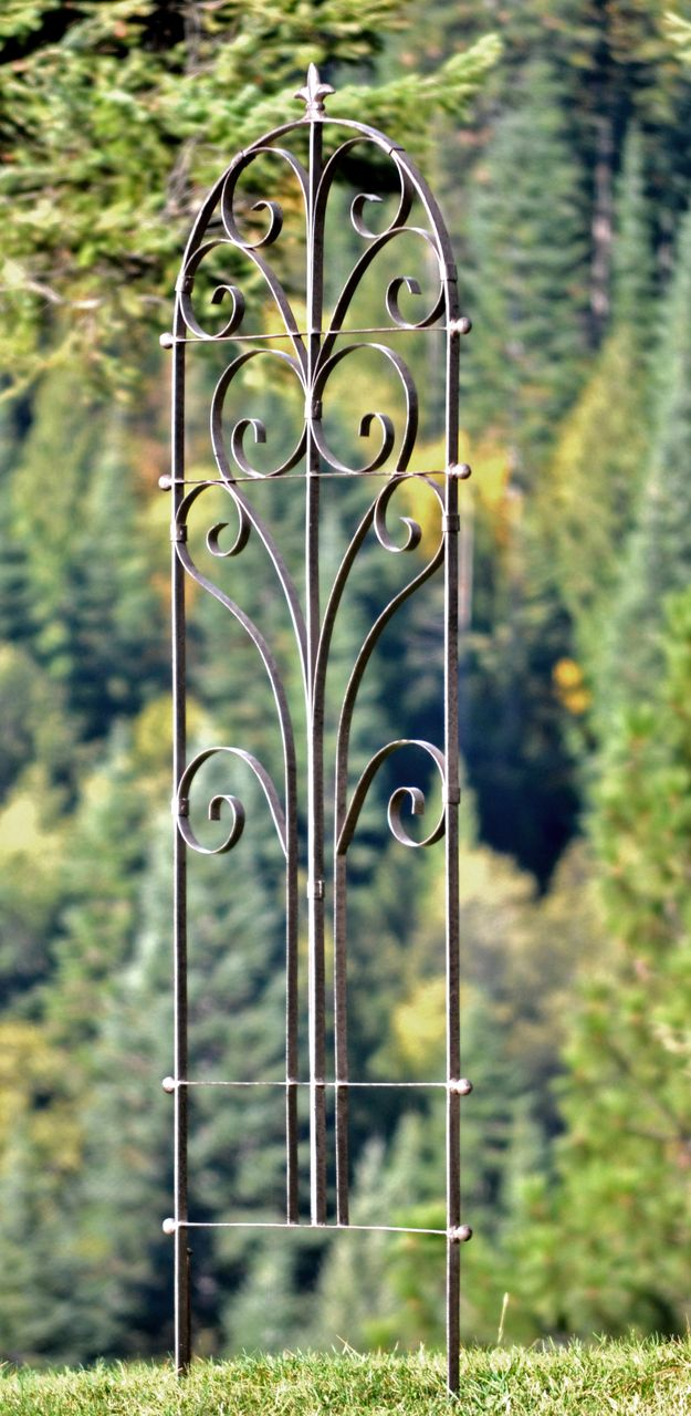 Exceptionnel H Potter Italian Iron Garden Trellis Large