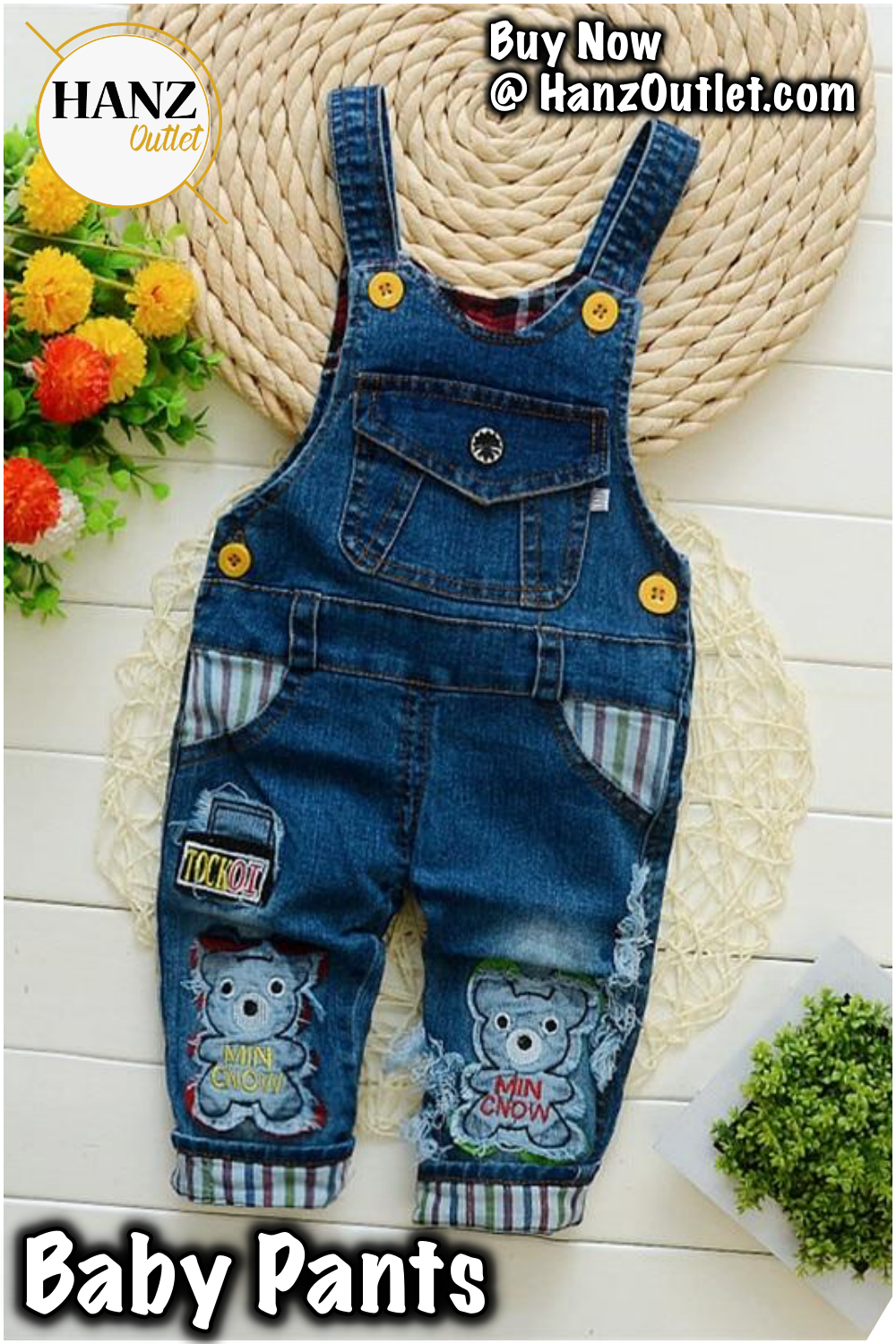 a3a7550a441 Baby Pants Spring Autumn Baby Boys Girls Overalls Pants Kids Boys Denim Bib  Pants Toddler Girls Jeans Jumpsuit Clothes  BabyPants  BabyBoys  BabyGirls  ...