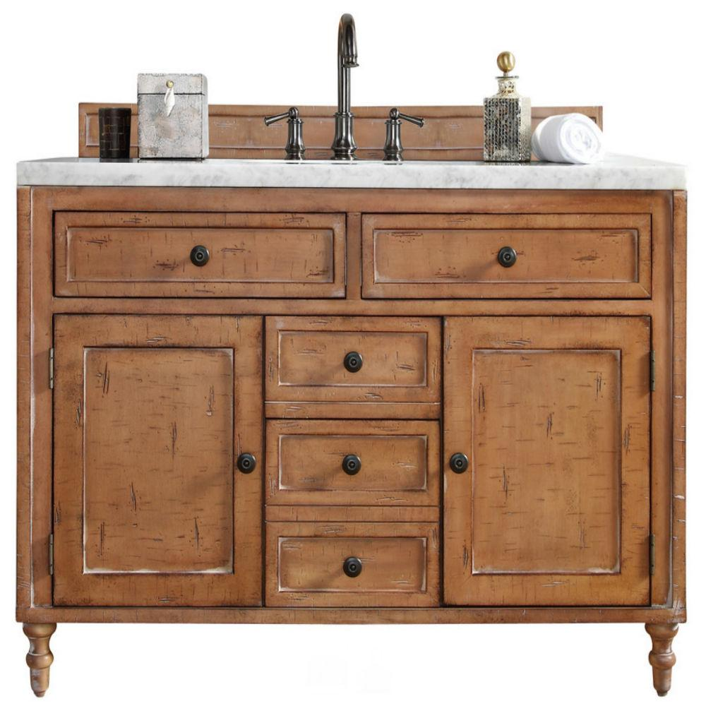 Driftwood Patina Vanity By James Martin Furniture Features Birch Solids With Birch Veneers With Hand Distressing And Hand Carved Feet