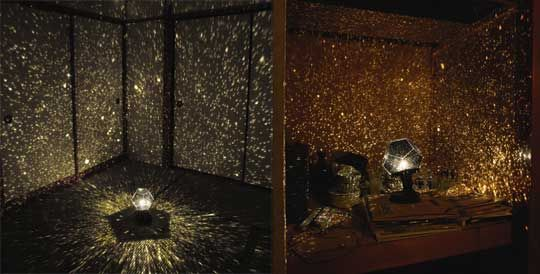 High Quality Home Planetarium. I Would So Use This For Photo Backdrops... And Leave