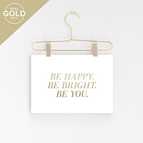 Inspirational wall art be bright happy you decor quotes also rh pinterest