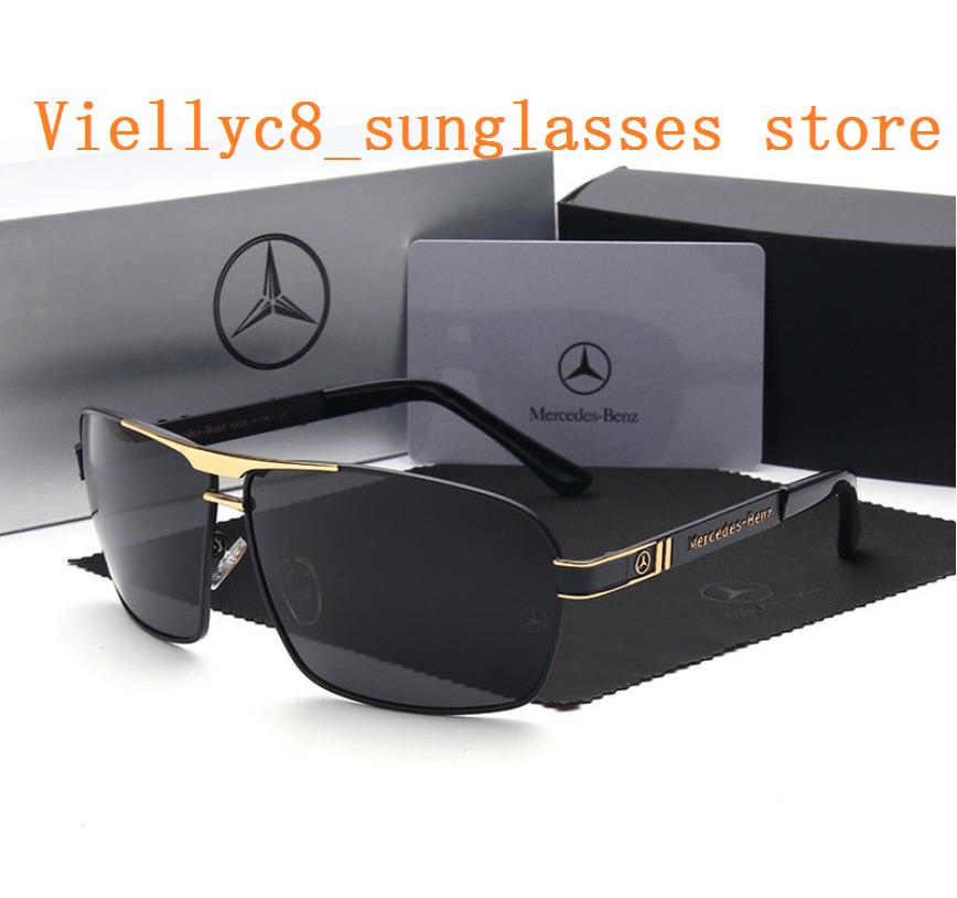 Luxury Brand Polarized Men's Sunglasses. Driving Sunglasses