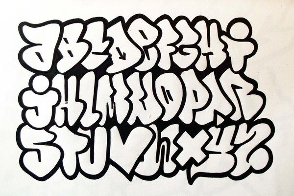 Abc Flop Graffiti Alphabet Sketches By Sameroner
