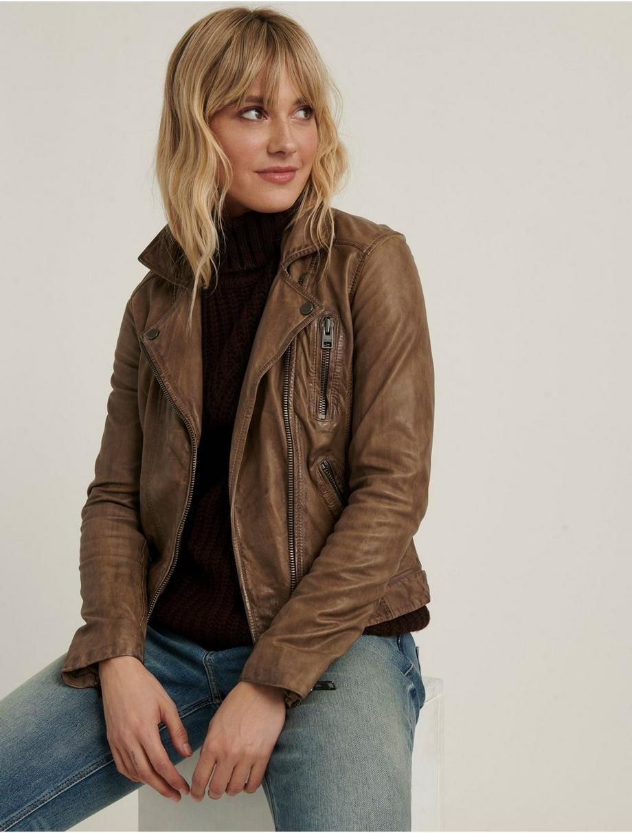 Distressed Leather Moto Jacket Lucky Brand Distressed Leather Jacket Moto Jacket Leather Moto Jacket [ 1212 x 920 Pixel ]