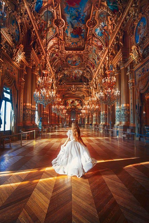 ITAP inside the Paris Opera House