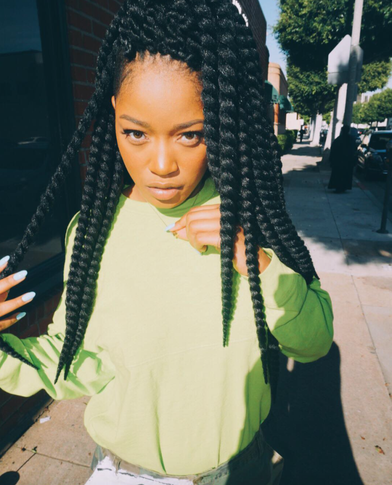 Love This Twists On @ kekepalmer - http://community.blackhairinformation.com/hairstyle-gallery/celebrities/love-this-twists-on-kekepalmer/
