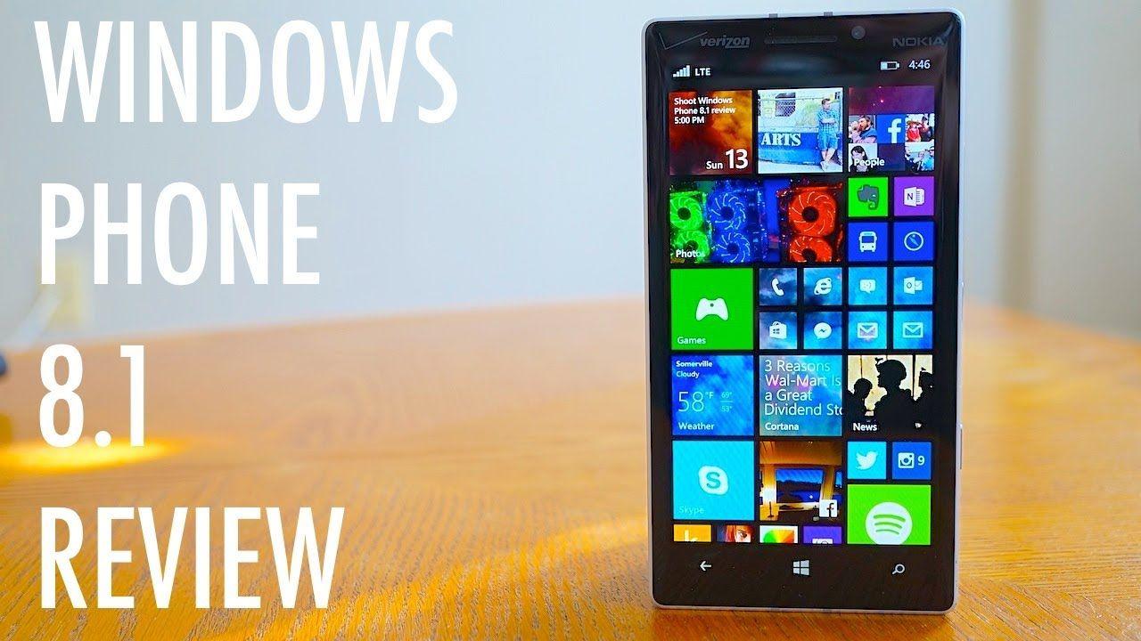 Windows Phone 8.1 Review Pocketnow Windows phone, Data