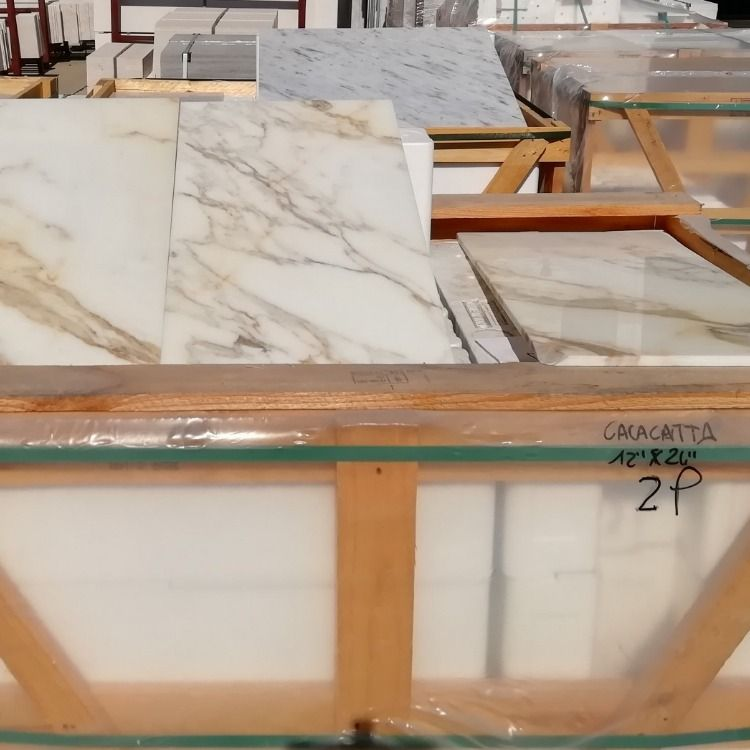 Calacatta Gold Marble Tiles In Stock 610 X 305 X 10 Mm Polished In 2020 Calacatta Marble Calacatta Gold Marble Marble Tiles