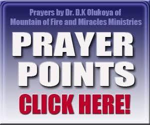 Mfm Prayer Points 2018