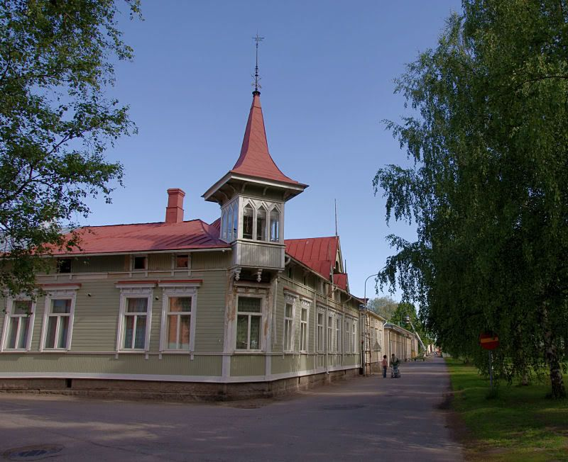 Kristinestad Ostrobothnia province of Western Finland.- Pohjanmaa - Österbotten