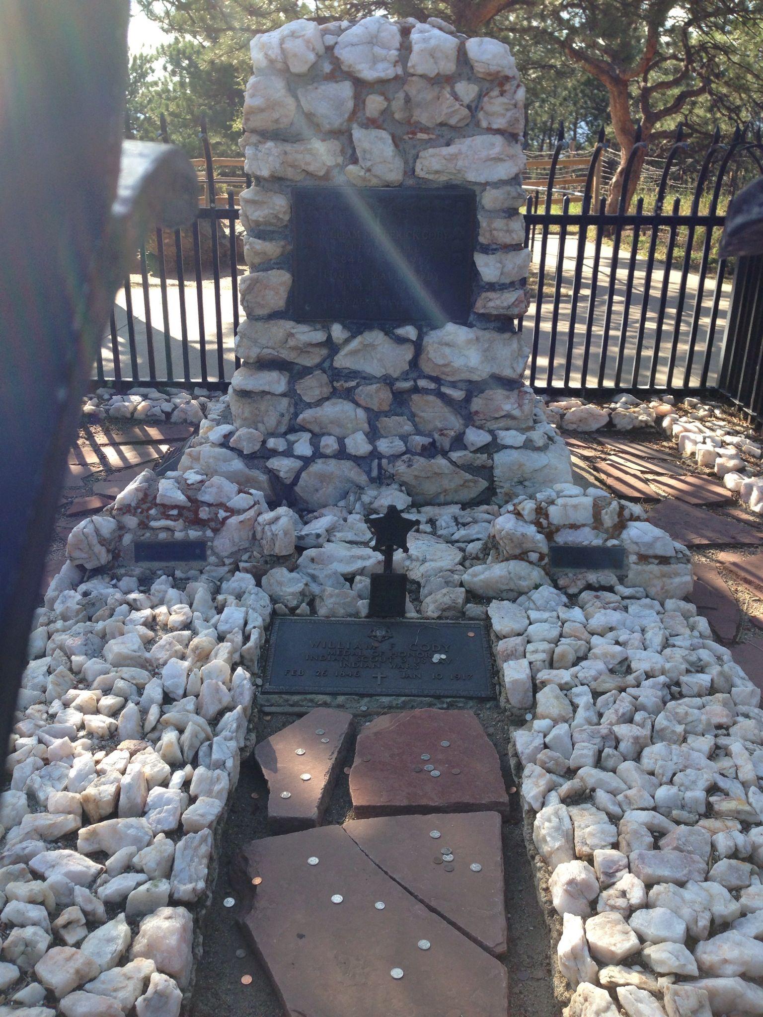 Buffalo Bill William F Cody S Grave Golden Colorado
