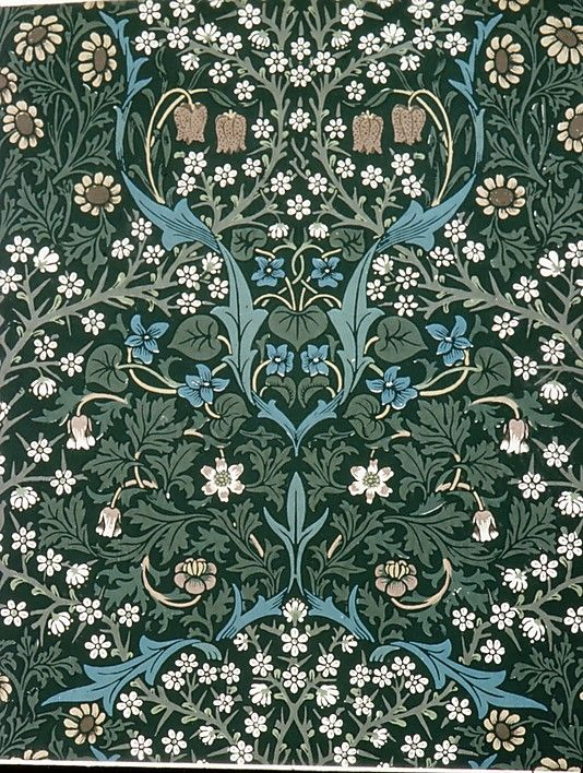 Blackthorn design, 1892. William Morris (British, 183496