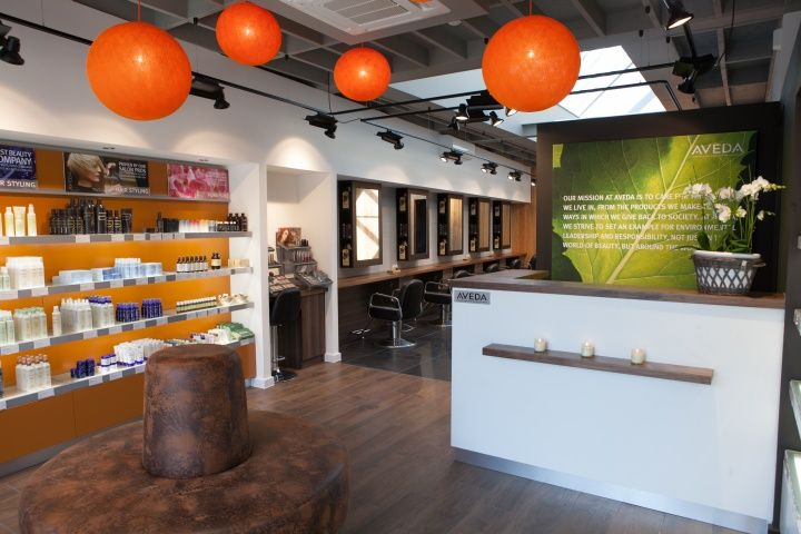 Aveda Lifestyle Salon Spa by Reis Design Beaconsfield UK 25