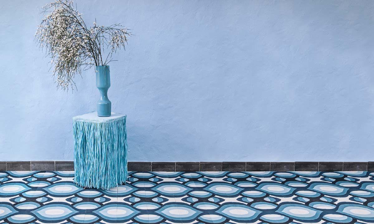 Sols Et Murs En Carreaux Ciment Photos Et Reportages Mosaic Factory Carreaux Ciment Carrelage Ciment Carrelage Cire