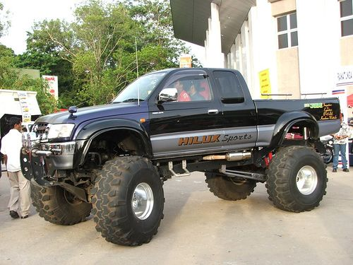 Jacked Up Toyota Trucks >> Toyota trucks on Pinterest | Toyota Land Cruiser, Toyota 4runner and Toyota Hilux