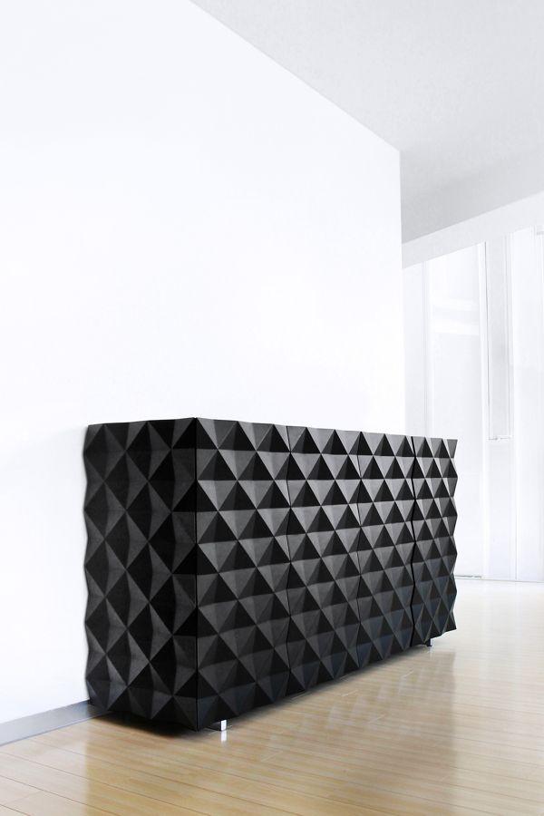 Rocky Credenza/Storage sideboard - Designer: Joel Escalona, 2009