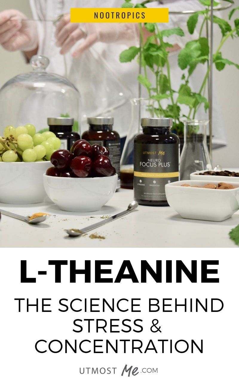L-THEANINE: The Science Behind Stress & Concentration