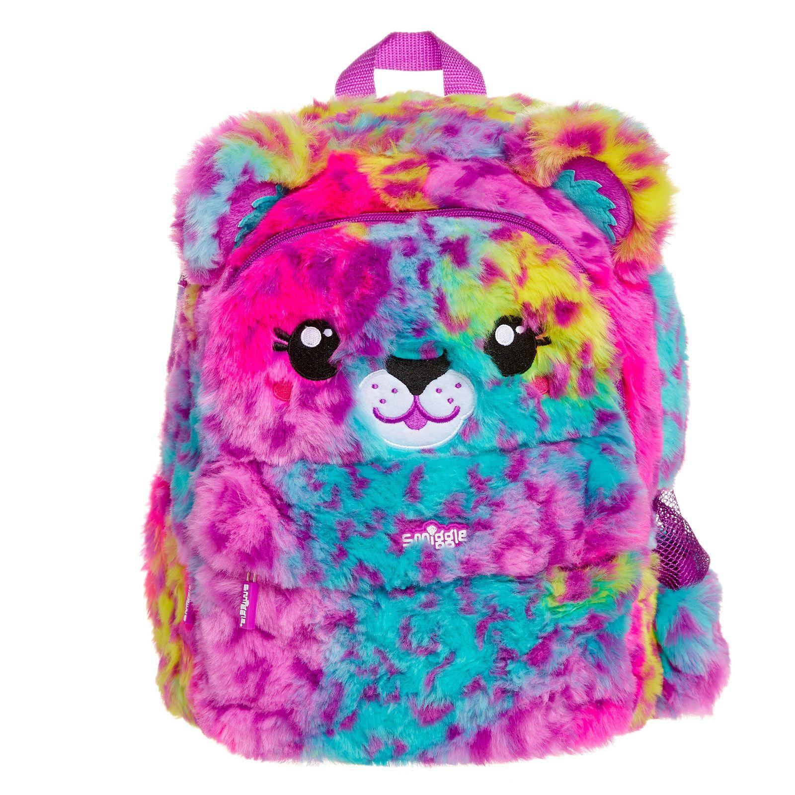 Fluffy Junior Softy Backpack Smiggle UK School bags