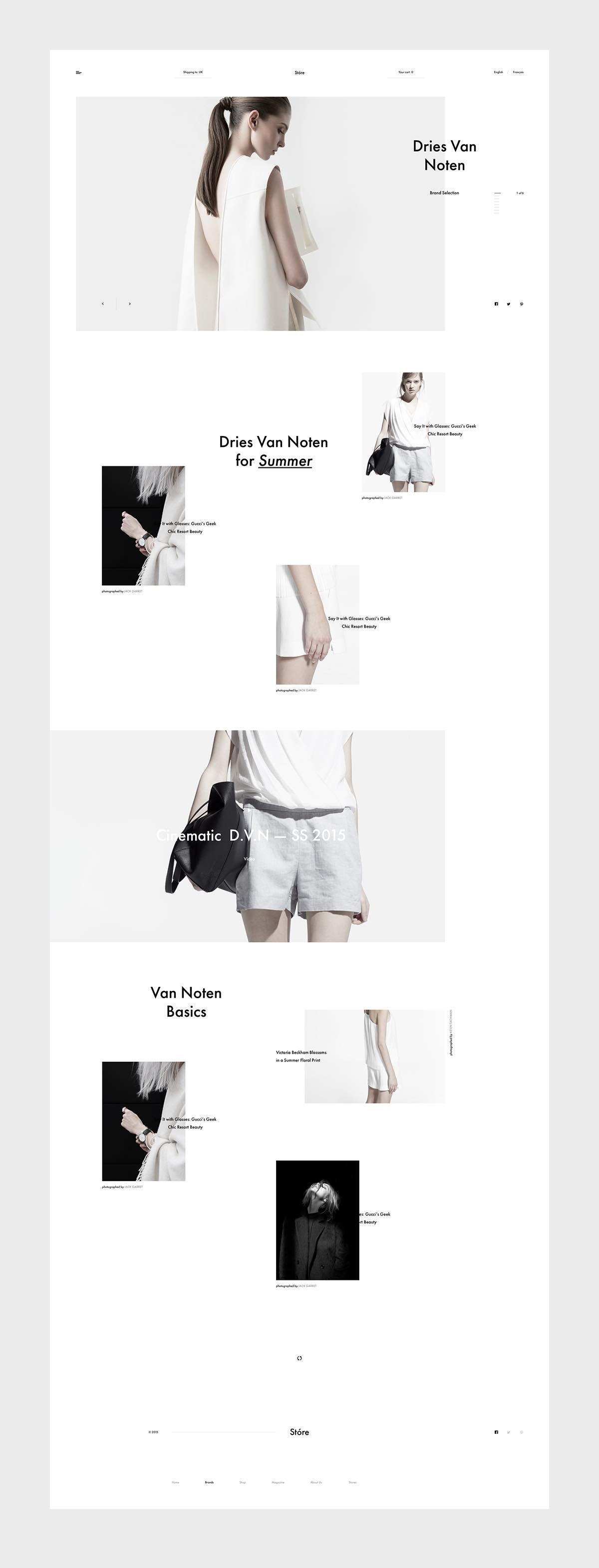 Store   Designer 服装